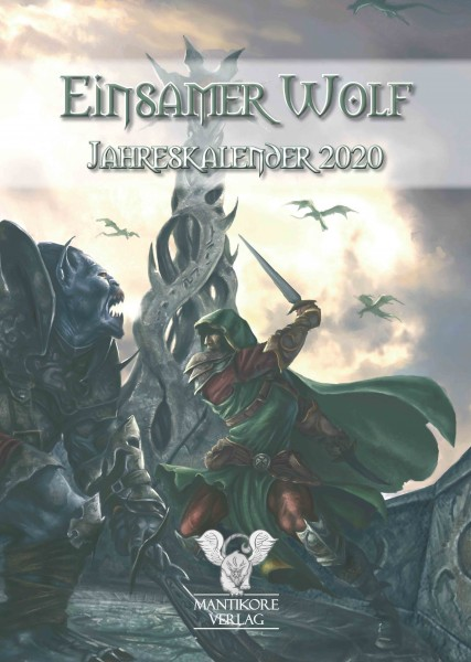 Einsamer Wolf Jahreskalender 2020