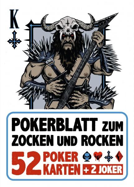 Poker-Karten - zum Zocken und Rocken